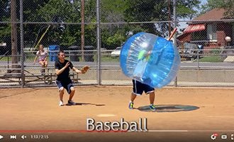 14.china tpu bubble soccer suppliers with baseball