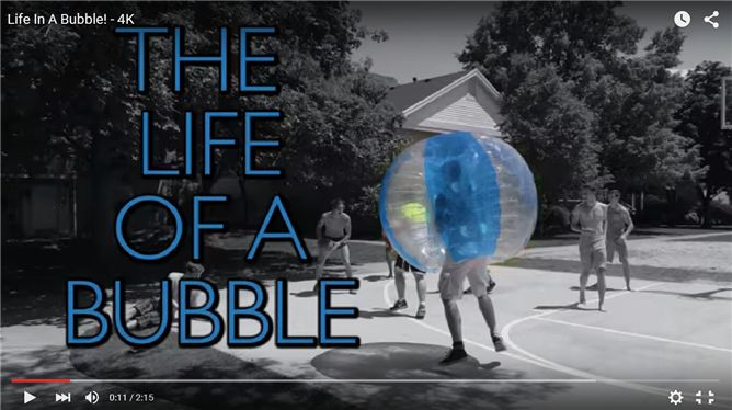 the life of a bubble
