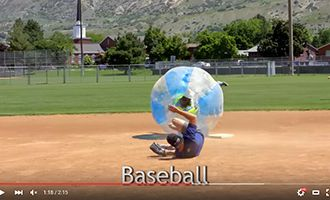 14-4.china tpu bubble soccer suppliers with baseball