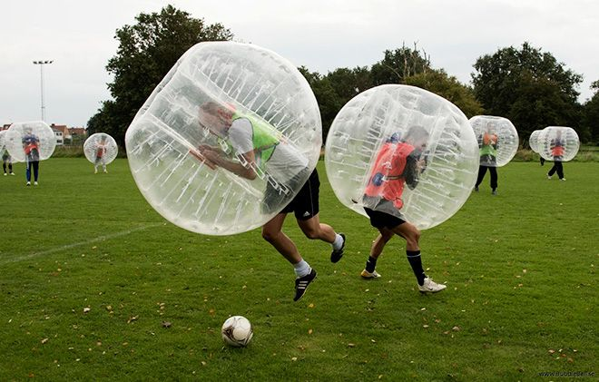 bubble socer ball