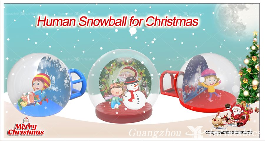 giant snowball for Christmas 2018