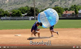 14-2.china tpu bubble soccer suppliers with baseball