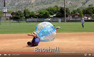 14-3.china tpu bubble soccer suppliers with baseball