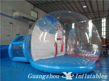 Christmas Decoration Inflatable Bubble Tent, Fashional Show Globes Ball