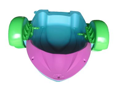 Green-Purple Paddle Boat-2