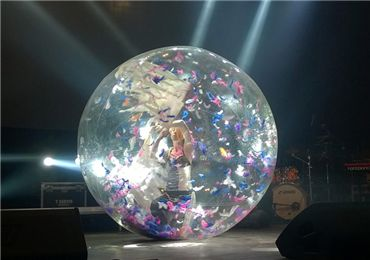 Wonderful Water Zorb.Most Fun Inflatable Dance Ball
