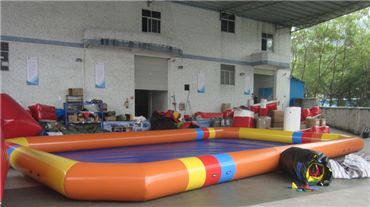 PVC Notching Inflatable Pools