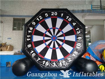 Inflatables Double-Sided Foot Dart Games, Soccer Dart Board, Foot Darts Game