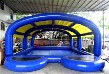 Inflatable Pool Walking Water Ball Pool With Tent On Top