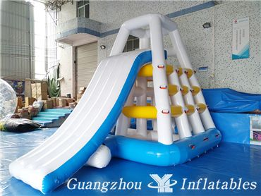 Inflatable Water Tower,Inflatable Aqua Floating Water Slide