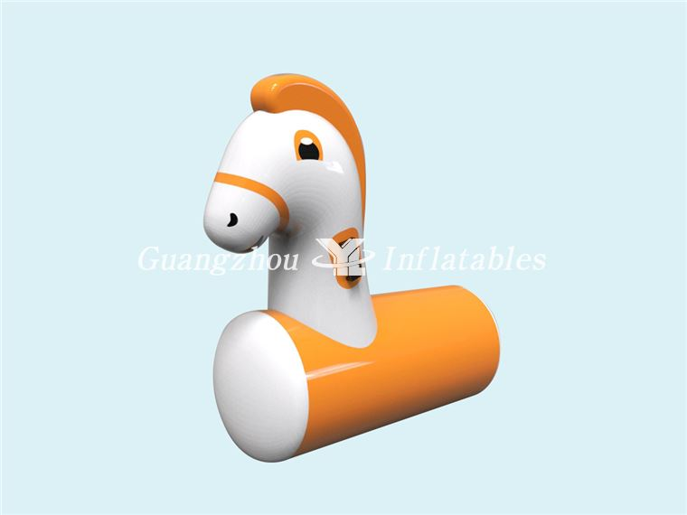 pony horse games Inflatable Orange Pony Horse Game