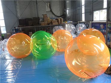 orange water ball