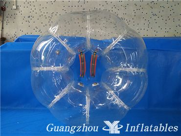 Transparent Inflatable Buddy Bumper Ball, Human Bubble Suit