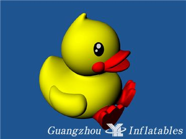 3mh pvc giant inflatable yellow duck for advertising