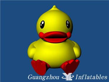 worlds most popular inflatable advertising yellow duck