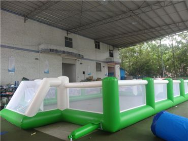 Inflatable Soap Soccer Field, Water Football Field For Sale