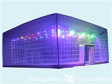 Led Lighting Transparent Inflatable Bubble Tent, Outdoor Camping Tent Bubble House