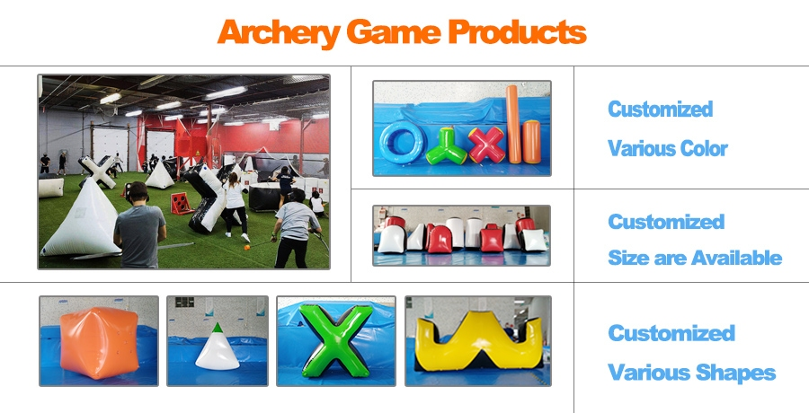 Inflatable Archery Bunker Field for Outdoors