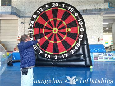 archery game dartboard