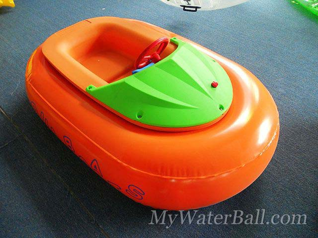 orange bumper boat
