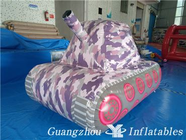 inflatable paintball bunker tank