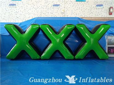 X Model Paintball Air Arena, Inflatable Paintball Bunker, Paintball Obstacle Game