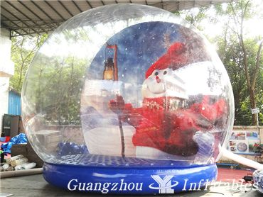 snow globe ball for event