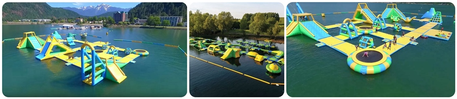 Inflatable Floating Buoy for Water Parks