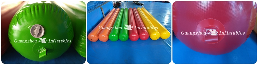 Long Inflatable Buoy for Water Parks factory price