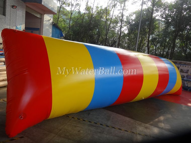 inflatable colorful pillow