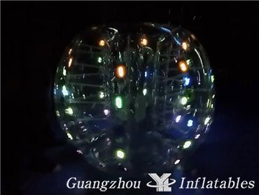 led bubble soccer