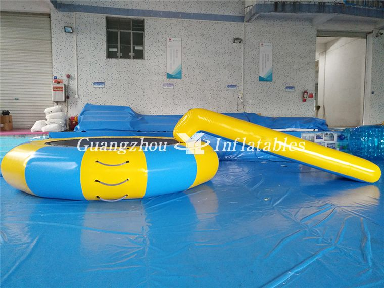 trampoline slide Inflatable Water Trampoline Combo For Water Sports