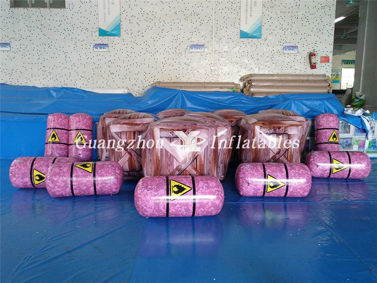 China Best Manufacture Inflatable Paintball Air, Paintball Boxes