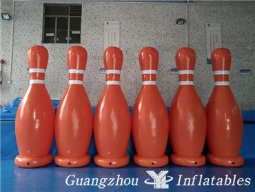 Zorb Ball Type and Inflatable Toy Style Inflatable Bowling Pins