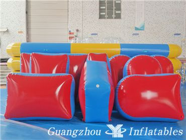 inflatable paintball arena
