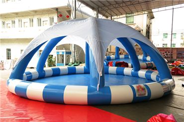 New Design Inflatable Pool With Tent Cover