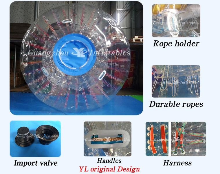 Wholesale High Quality Grass Body Zorbing Ball