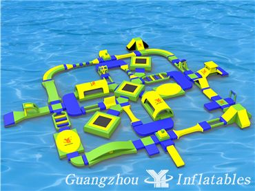 Hot Sale Water Park, High Quality Inflatable Aqua Park for Events
