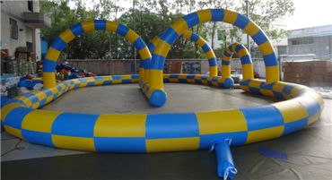 popular inflatable zorb ball ramp for sale