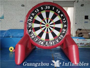 Inflatable Dartboards Inflatable Soccer Dart Game