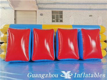 inflatable paintball bunker games