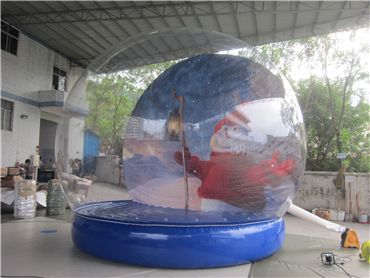 Giant Inflatable Snow Globe